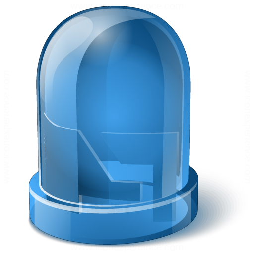 Led Blue Icon