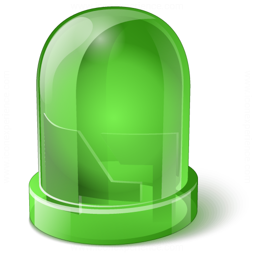 Led Green Icon