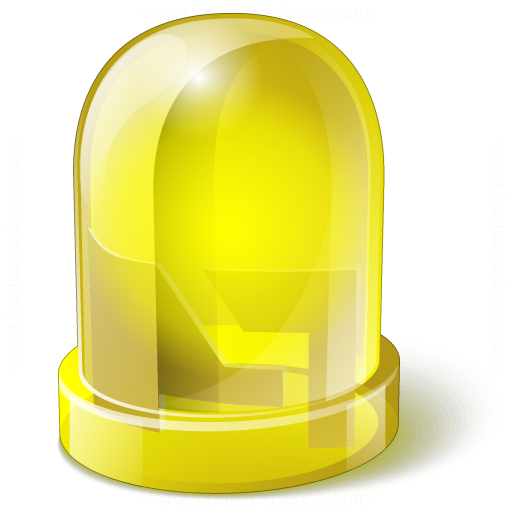 Led Yellow Icon