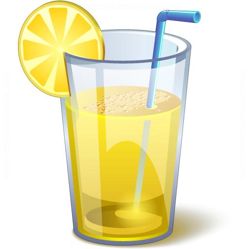 Lemonade Glass Icon