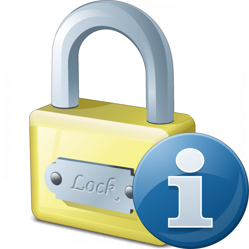 Lock Information Icon