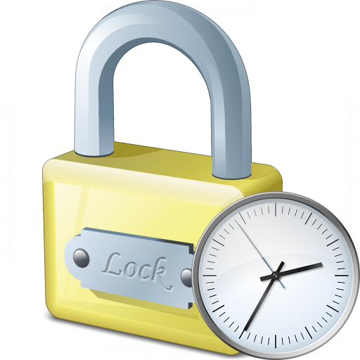 Lock Time Icon