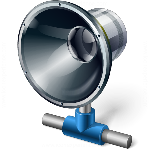 Loudspeaker Network Icon