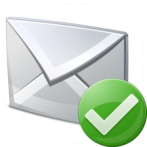 Mail Ok Icon