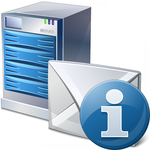 Mail Server Information Icon
