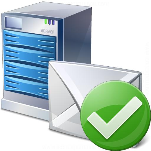 Mail Server Ok Icon
