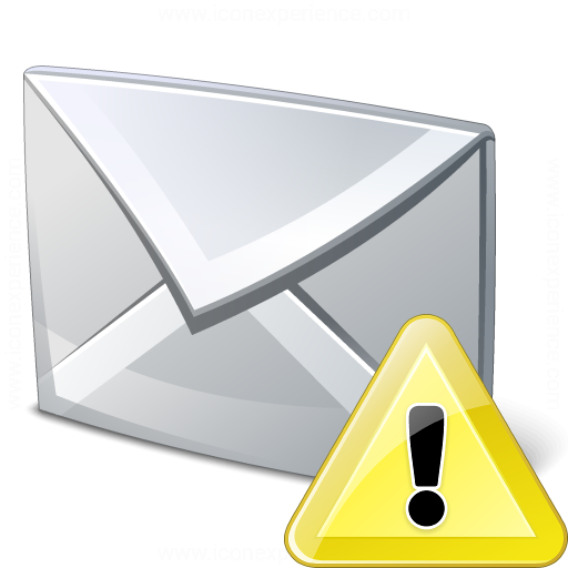 Mail Warning Icon