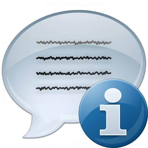 Message Information Icon
