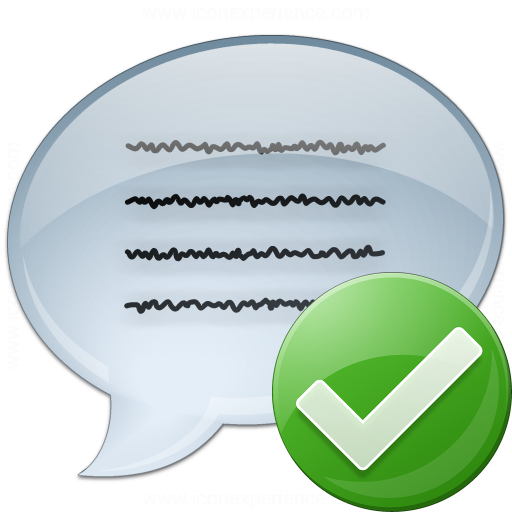 Message Ok Icon