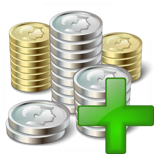 Money 2 Add Icon