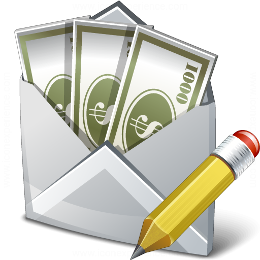 Money Envelope Edit Icon