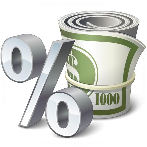 Money Interest Icon