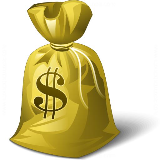 Moneybag Dollar Icon