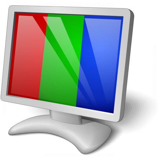 Monitor Rgb Icon