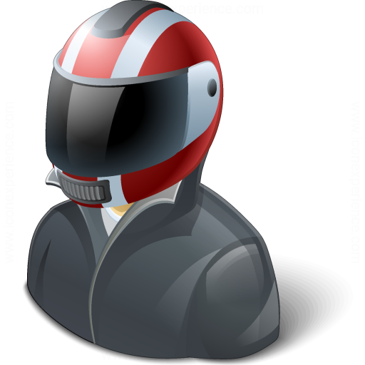 Motorcyclist Icon