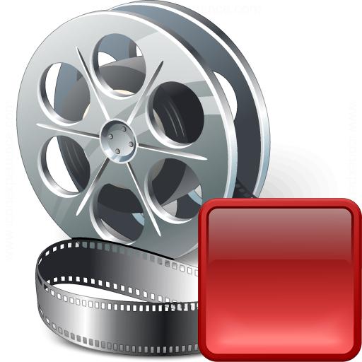 Movie Stop Icon
