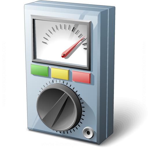 Multimeter Analog Icon