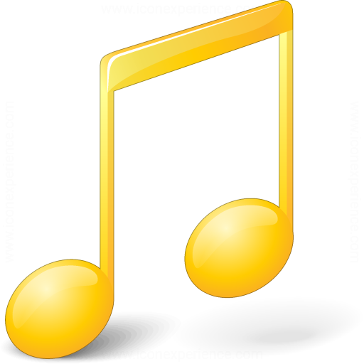 Music Yellow Icon