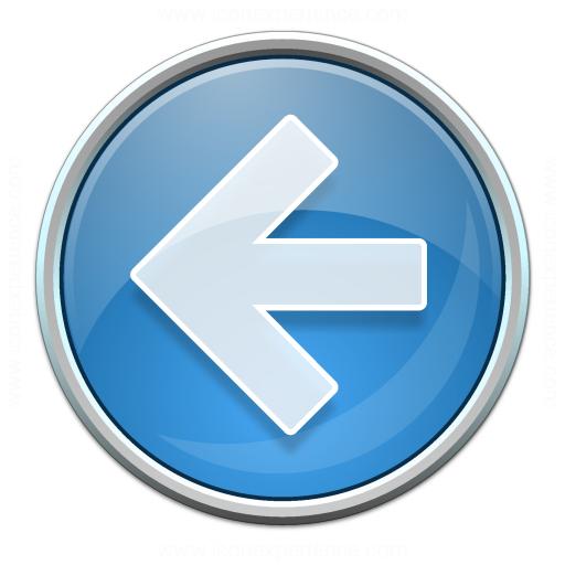 Nav Left Blue Icon