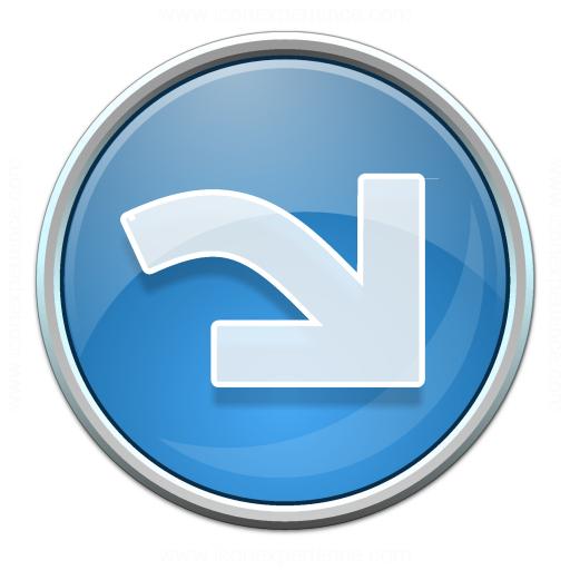 Nav Redo Blue Icon