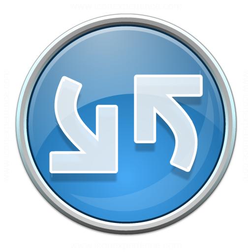 Nav Refresh Blue Icon