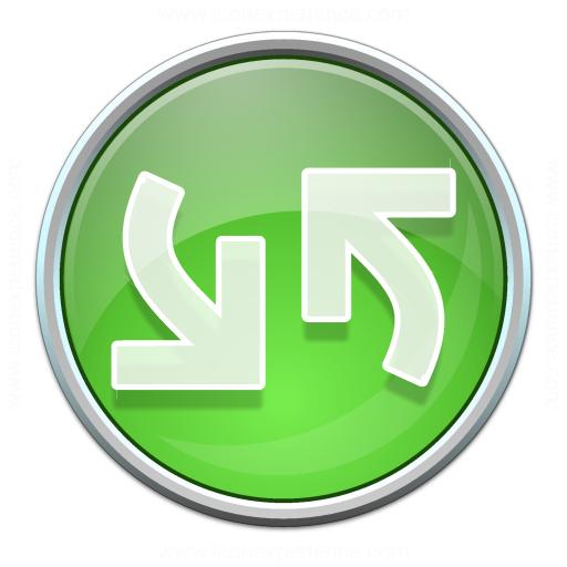 Nav Refresh Green Icon