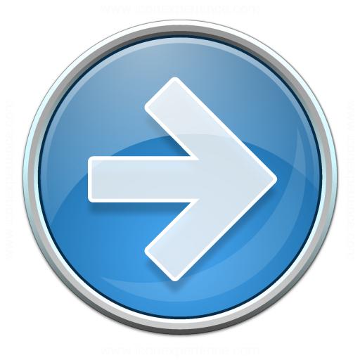 Nav Right Blue Icon