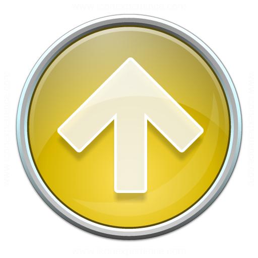 Nav Up Yellow Icon