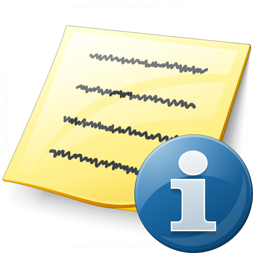 Note Information Icon