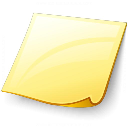 Note Plain Icon