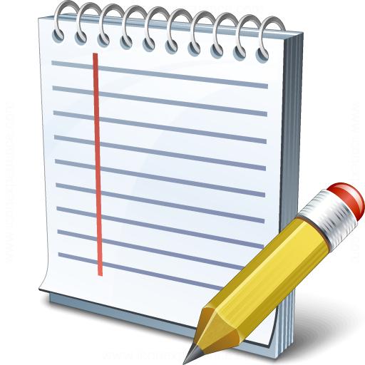 Notebook Edit Icon