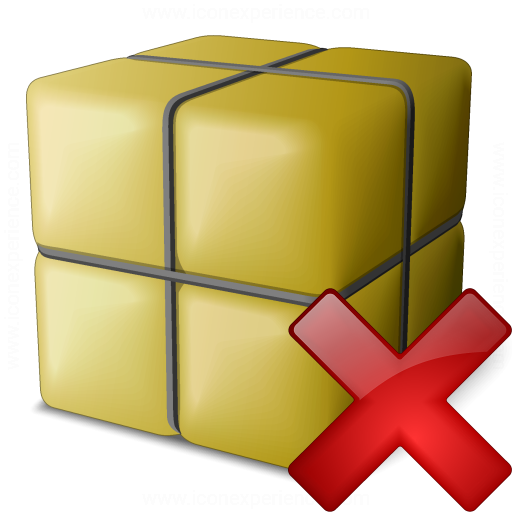 Package Delete Icon