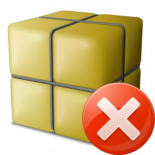 Package Error Icon