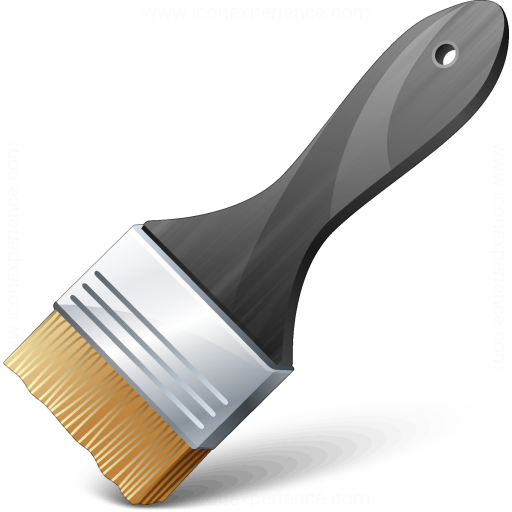 Paint Brush 2 Icon