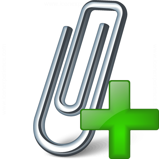 Paperclip Add Icon