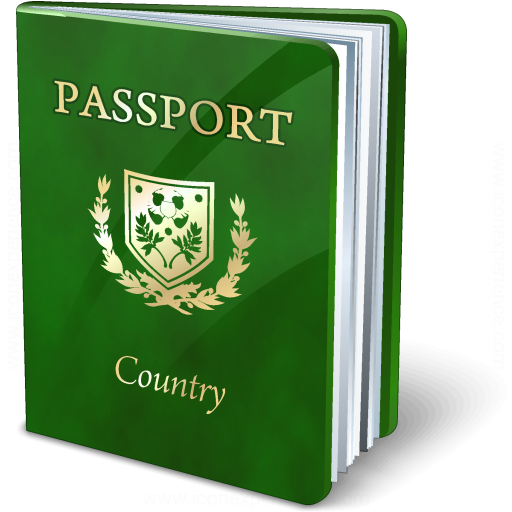 Passport Green Icon