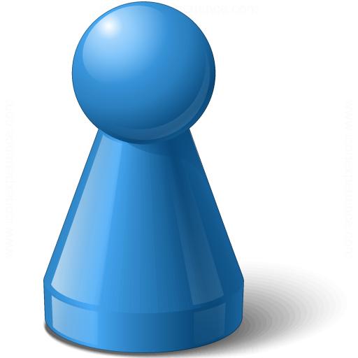 Pawn Blue Icon