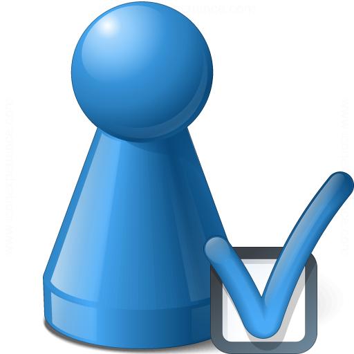 Pawn Blue Preferences Icon