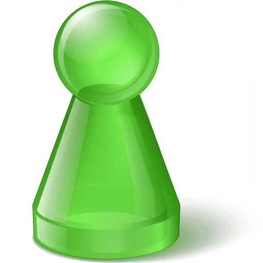 Pawn Glass Green Icon