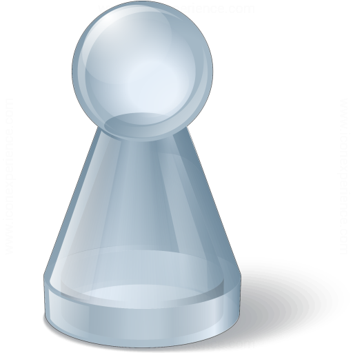 Pawn Glass Grey Icon