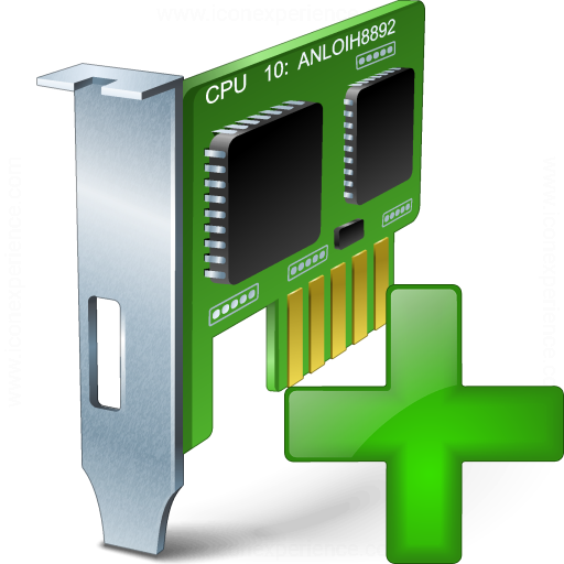 Pci Card Add Icon