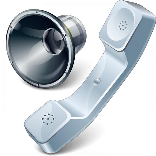 Phone Speaker Icon