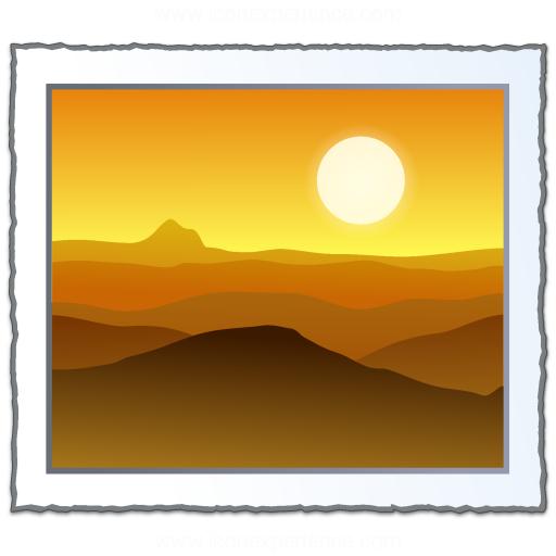 Photo Landscape Icon