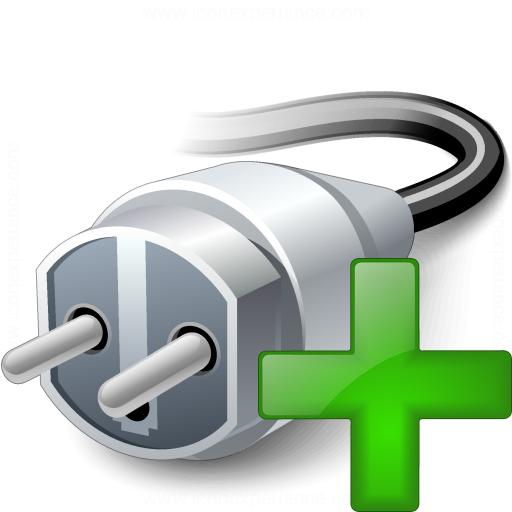 Plug Add Icon