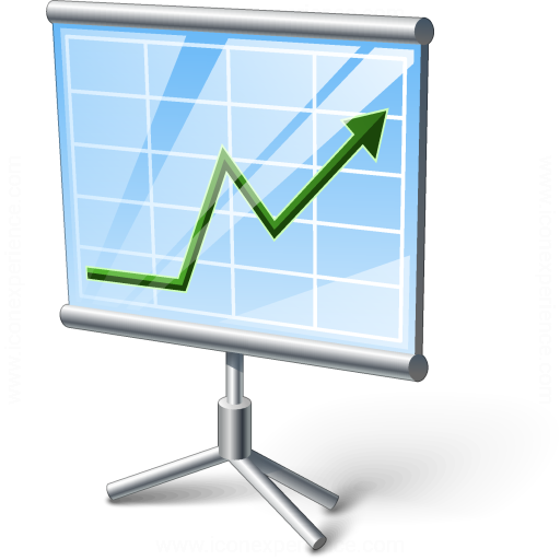 Presentation Chart Icon