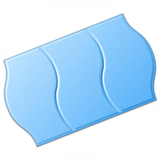 Price Sticker Blue Icon