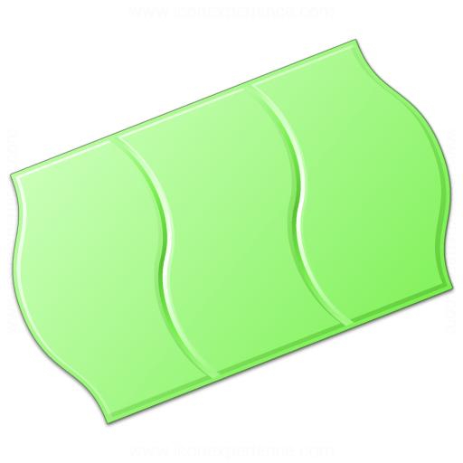Price Sticker Green Icon