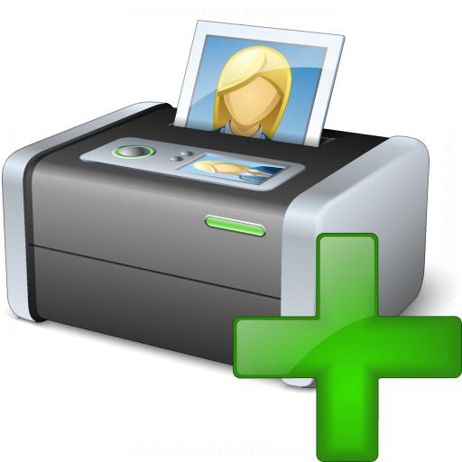 Printer 3 Add Icon