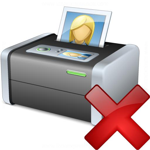 Printer 3 Delete Icon