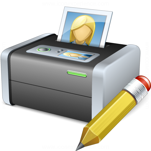 Printer 3 Edit Icon